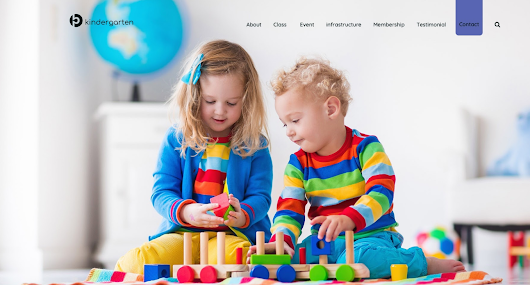 A Kindergarten WordPress Theme For Your Choice