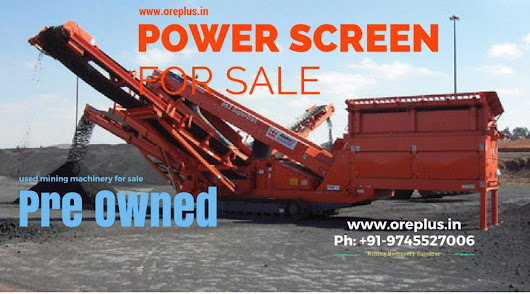 Mobile Screening Plant for sale | Used Second Hand