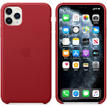 Brand New Apple iPhone 11 Pro Max Red Leather Case