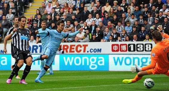 Man City vs Newcastle United Highlights 2014-15 epl match