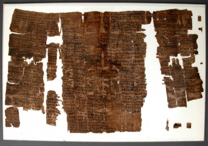 Papyrus pharaon senwosret i