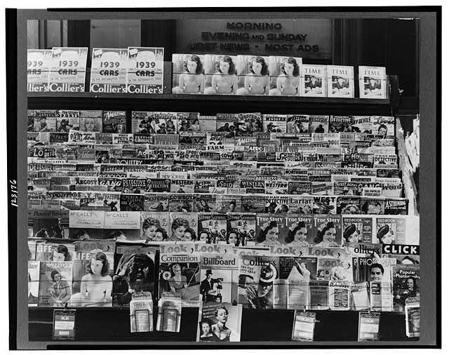 Newsstand. Omaha, Nebraska