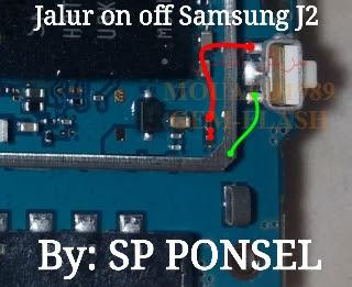 samsung j2 power key ways