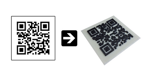 Make Your Marketing Tangible with 3D Printed QR Codes