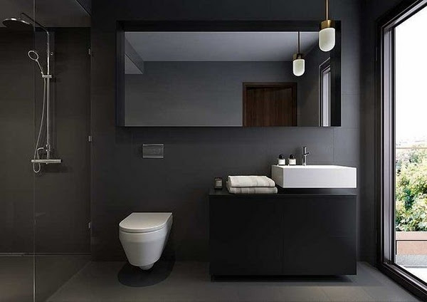 Modern bathroom colors - 50 Ideas how to decorate your ...