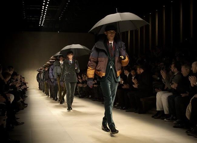 a999 Burberry Prorsum AW12 Menswear Show Finale
