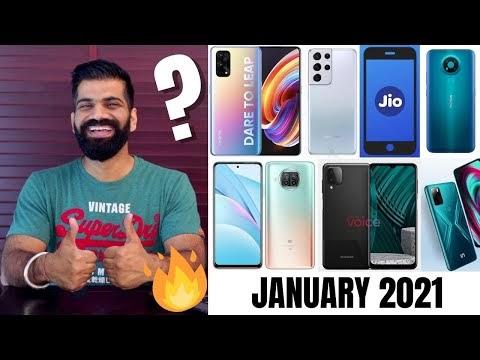Top Upcoming Smartphones - January 2021