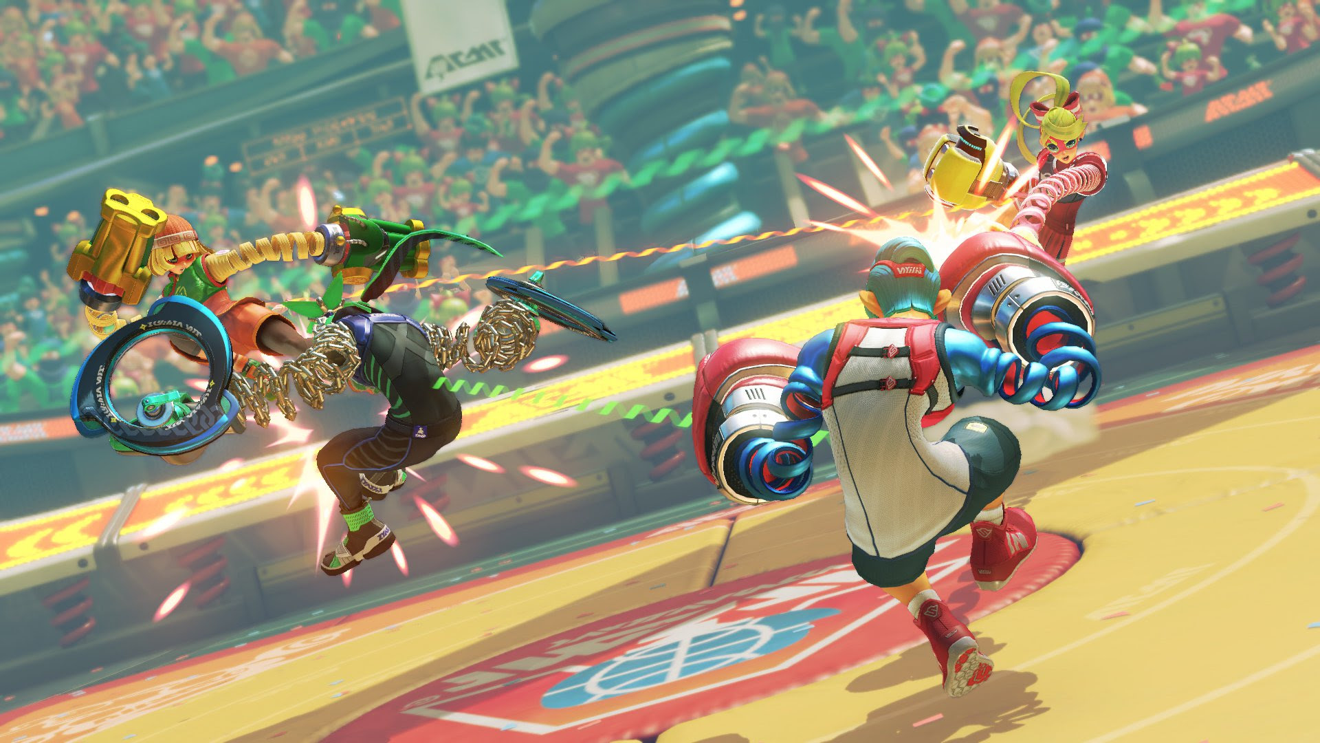 ARMS leak highlights more potential fighters screenshot