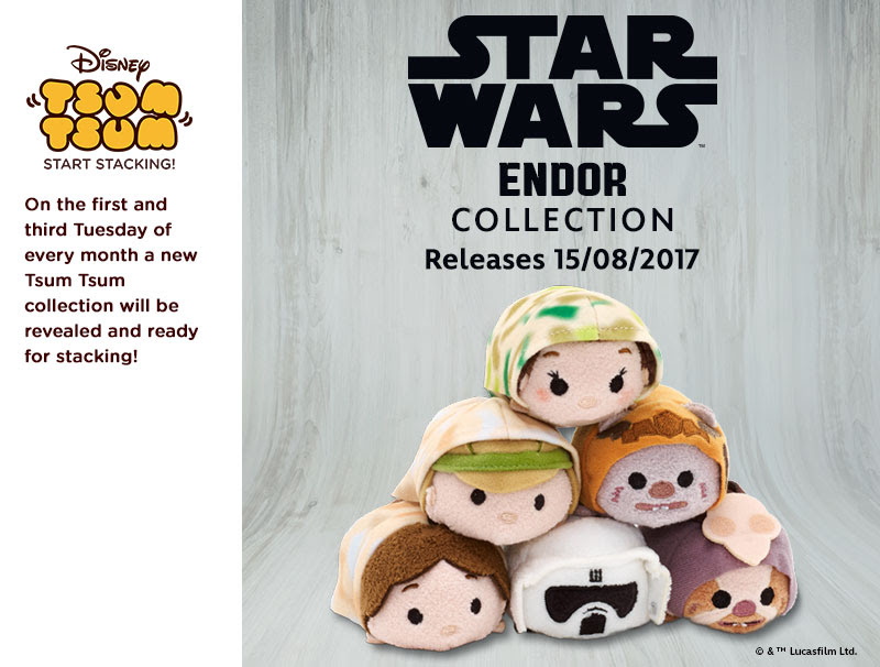 Star Wars Endor Tsum Tsum Set | Anakin And His Angel