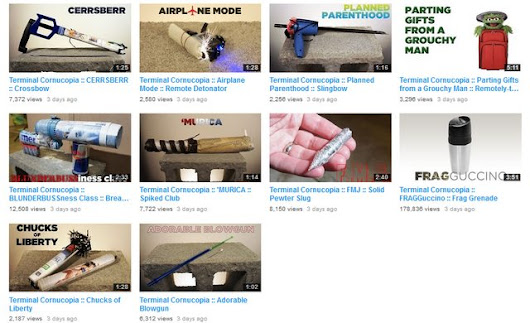 Guy Builds Ten Weapons With Products Purchased After Getting Through Airport Security