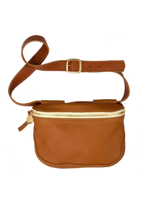 In the age of overstuffed totes and shoulder bags, going hands-free is always a pleasure. It makes even more sense if you plan to be out and about.Clare Vivier Fanny Pack, $259; clarev.com