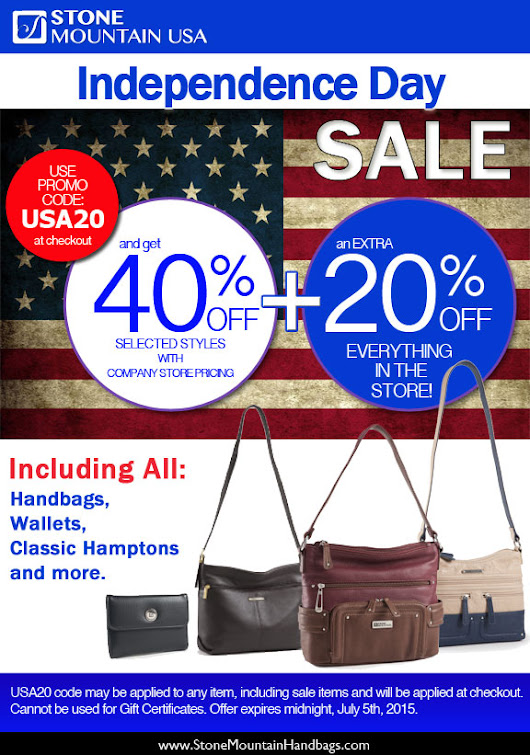Independence Day Storewide BONUS Sale