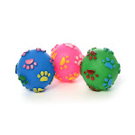 Bonita Home 2324466 Pet Squeaky Ball Toy 3 Colors - Case of 80