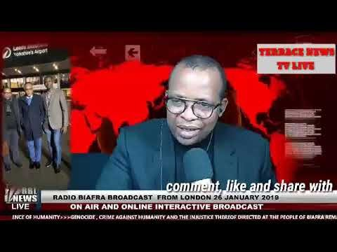 Radio Biafra london Live Broadcasting By Uche mefor as