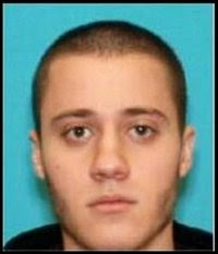 Suspect Paul Anthony Ciancia, from a screenshot of CBS News' Twitter feed; via South Jersey Times, nj.com