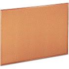 UNIVERSAL - Bulletin board - wall mountable - 48 in x 35.98 in - cork - non-magnetic - cork - oak frame