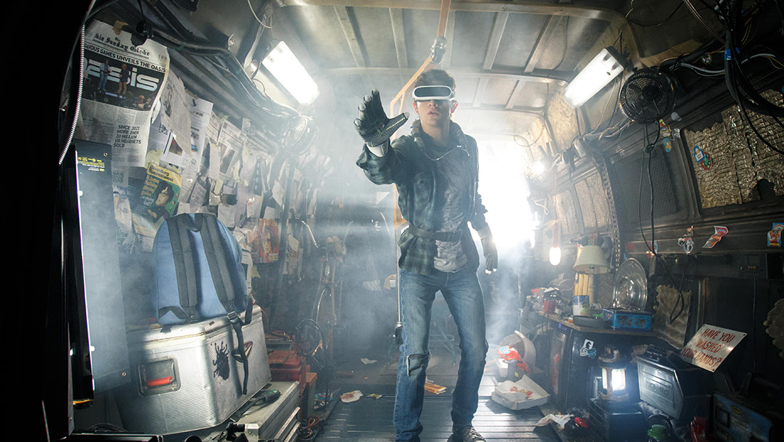 Stephen Spielberg's Ready Player One trailer drops at San Diego Comic Con screenshot