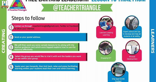 Free sample practical PE lessons to try from @TeacherTriangle