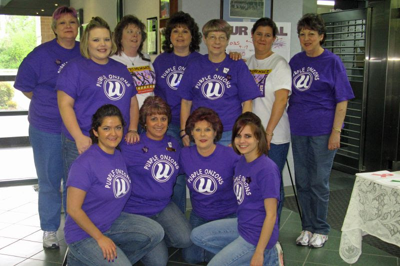Union Bank Purple Onions
