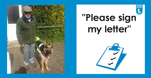 Eric's Letter | Guide Dogs