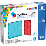 Magna-Tiles Rectangles 8 Piece Expansion Set