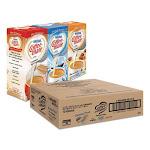 Nestle NES46193CT 0.38 oz Mini Cups French Vanilla Hazelnut Original Liquid Coffee Creamer