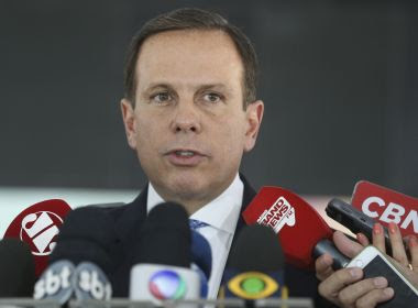 Doria defende frente ampla de centro para evitar eleição de Lula ou Bolsonaro em 2018