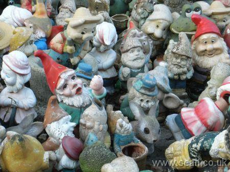 Detail of gnomes