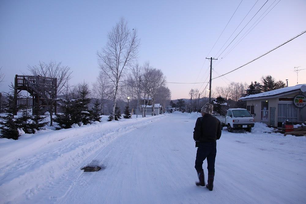 零下二十四度的散步