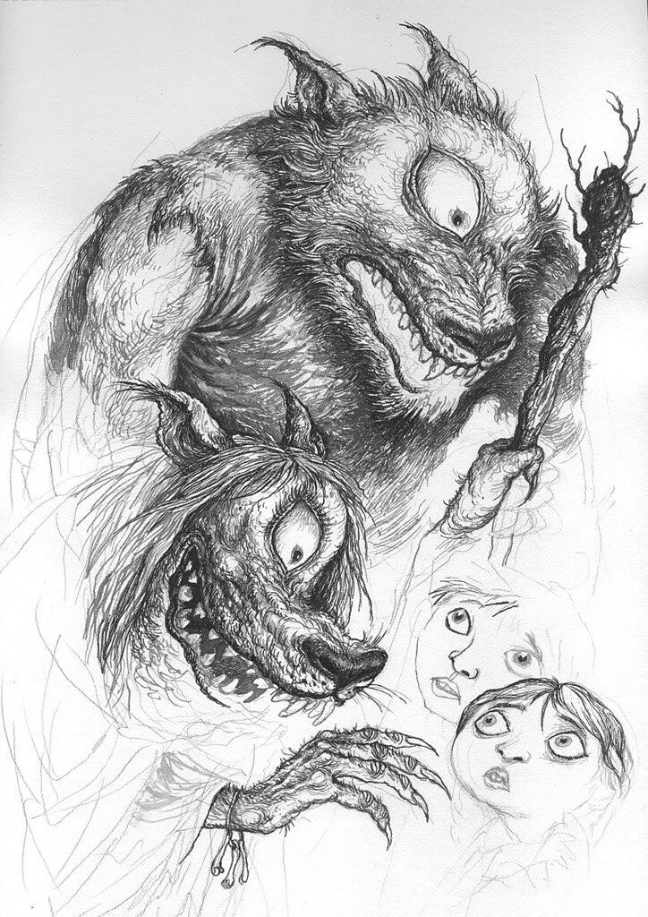 Ivica Stevanovic - Doghead Sketches