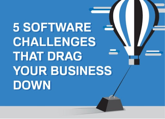 5 Software Challenges that Drag Your Business Down