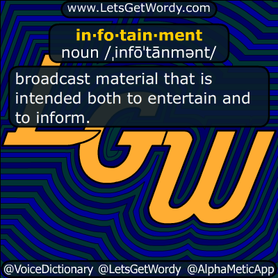 infotainment 04/08/2015 GFX Definition