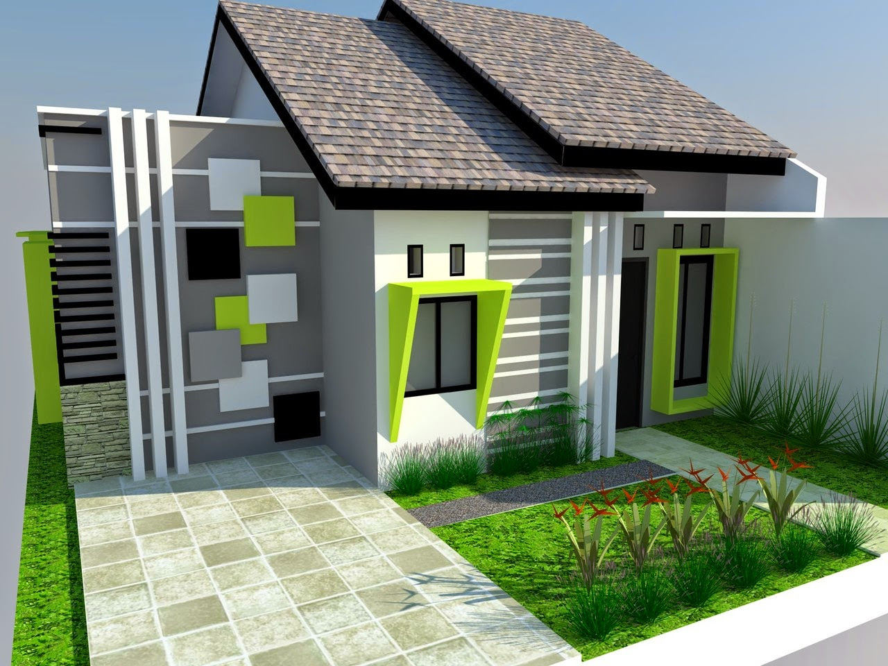 Model Rumah Sederhana Tapi Kelihatan Mewah 8 Desain Rumah Minimalis