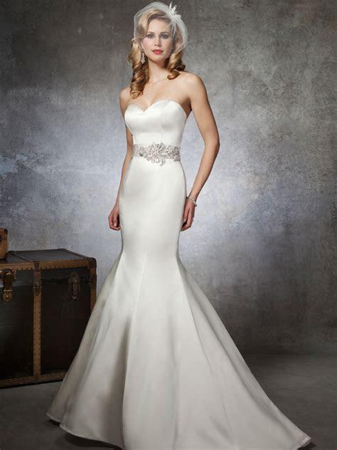 Sweetheart Mermaid Justin Alexander Bridal Gown 8659