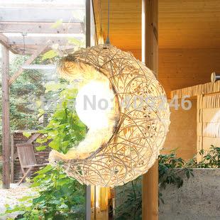 Online Get Cheap Wicker Lamp Shade -