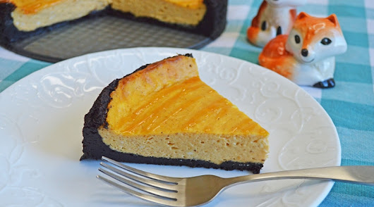 Easy Pumpkin Dessert- Pumpkin Cheesecake Recipe