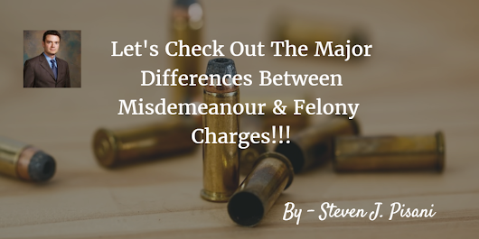 What is the difference between Misdemeanour and Felony?