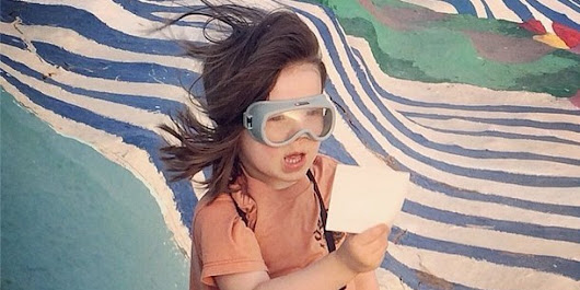 Give Up, Because This 4-Year-Old Takes Better Instagrams Than You