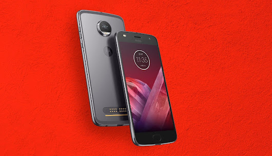 Moto Z2 Play Packs Moto G5 Plus Specs In A Slimmer, Modular Body