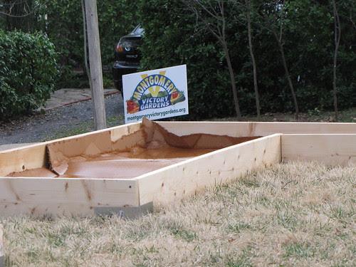victory garden beds