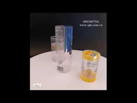 Hộp nhựa trụ tròn