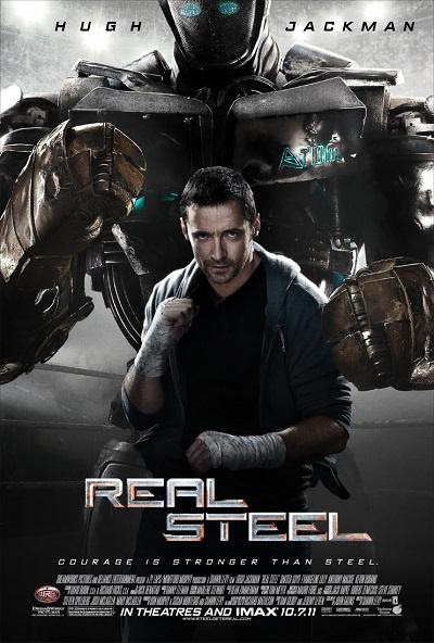 Hugh Jackman in Real Steel Poster