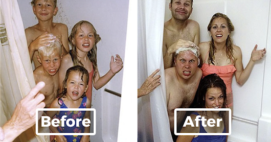 10+ Siblings Photos From Childhood Hilariously Recreated Years Later