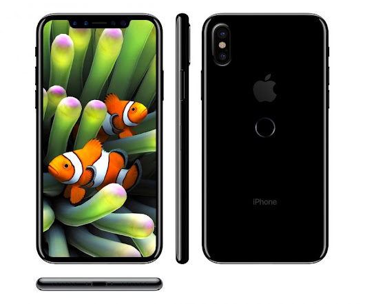 IPHONE 8, nuovi rumors sul design finale - ITouch