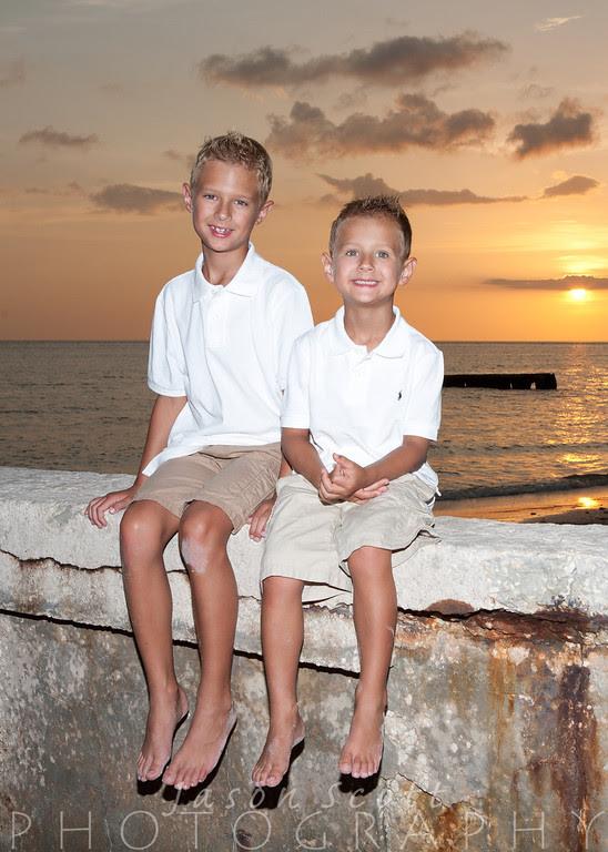 Brungardt Family on Siesta Key, July 2012