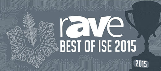 Best of ISE 2015 Awards - rAVe [Publications]