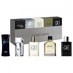Giorgio Armani 5 Pc Variety Set for Men By Giorgio Armani Standard OZ Eau De Toilette for Men's Gift Sets