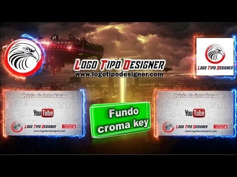 Final de tela youtube fundo Chroma key #08