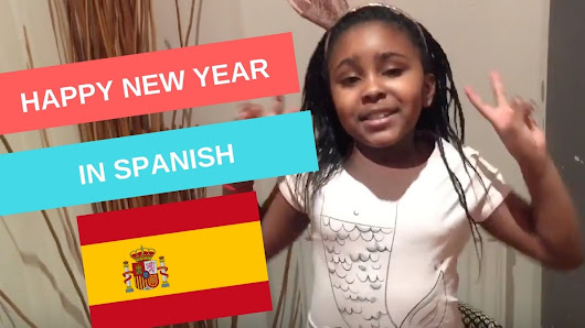 Happy New Year in Spanish! - YouTube