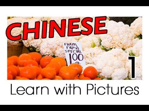 Learn Chinese Vocabulary with Pictures and Audio